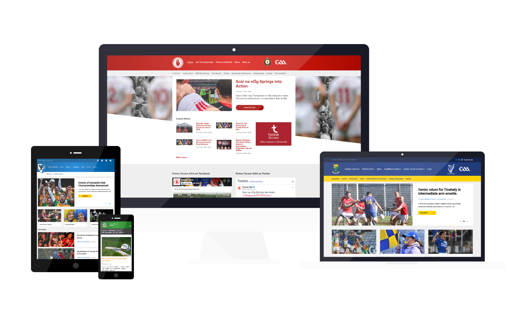 Club and County GAA Wordpress Template