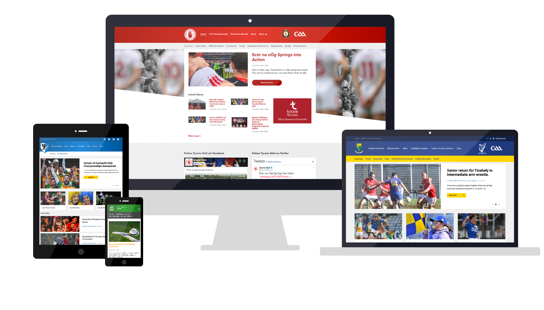 Club and County GAA Wordpress Template