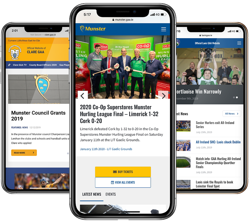 New Season, New GAA Website
